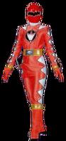 Dino Thunder Red Ranger (Female)
