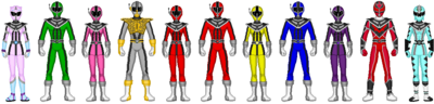 Data Squad Rangers (with Periwinkle)