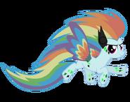 Rainbow power rainbine dash vector by rainbinedashie-d8e41dk