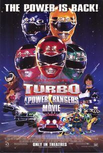 Sora's Adventures of Turbo A Power Rangers Movie poster