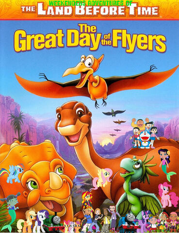 File:Weekenders Adventures of The Land Before Time 12- The Great Day of the Flyers (remake poster).jpg