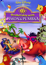 Pooh's adventures of On Holiday with Timon and Pumbaa poster