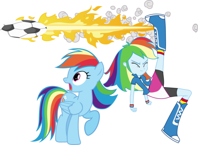 File:Rainbow dash and rainbow dash by hampshireukbrony-d6m0t1y.png
