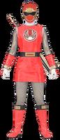 Ninja Storm Red Ranger (Female)