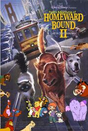 Pooh's Adventures of Homeward Bound II Lost in San Francisco Poster