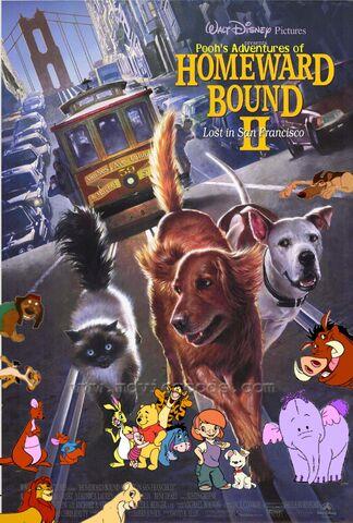 File:Pooh's Adventures of Homeward Bound II Lost in San Francisco Poster.jpg