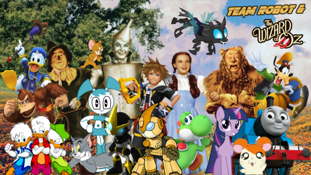 File:Team Robot & The Wizard Of Oz Poster.png