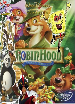 File:Spongebob and friends meet Robin hood..jpg
