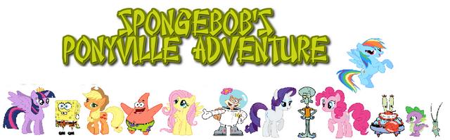 File:SpongeBob's Ponyville Adventure Poster-0.png