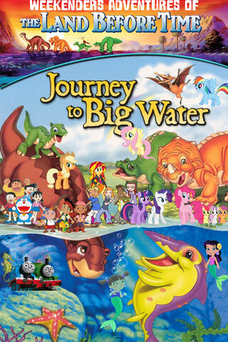 File:Weekenders Adventures of The Land Before Time 9- Journey to Big Water (remake poster).jpg