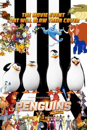 Pooh's Adventures of Penguins of Madagascar poster
