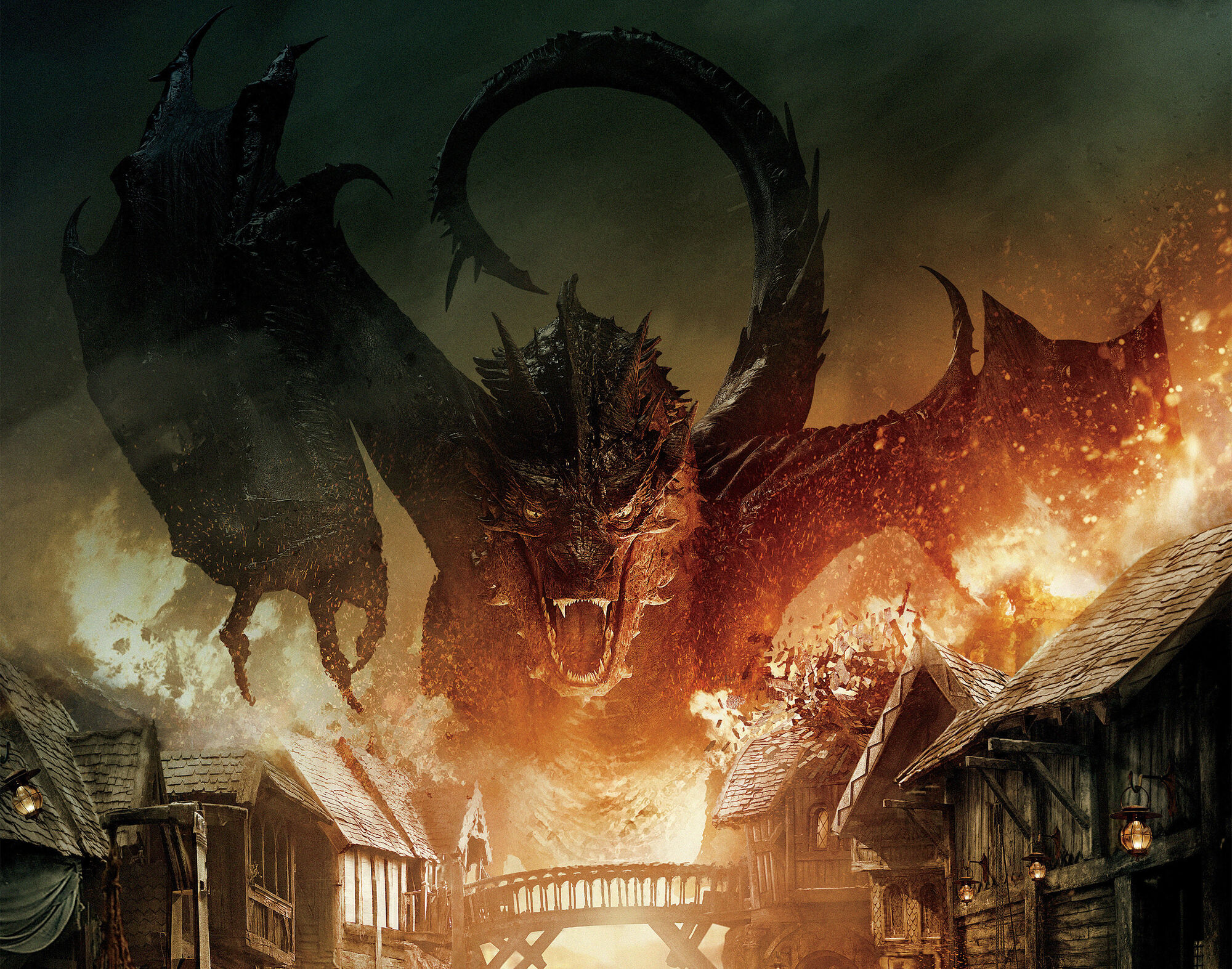 the villain from The Hobbit, Smaug the dragon