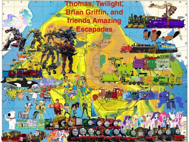 File:Thomas, Twilight, Brian Griffin, and friends' Amazing Escapades.jpg