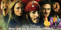 Brian and the Eeveelution Family's Adventures of Pirates of the Caribbean: At World's End
