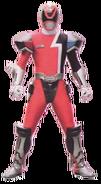 S.P.D. Red Ranger Battlizer (Cyber Mode)
