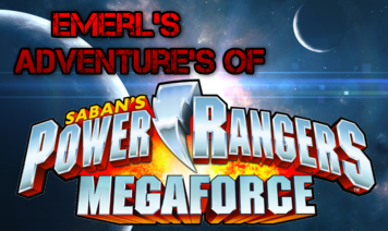 Emerl's Adventure's Of Power Rangers Megaforce Logo