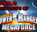 Emerl's Adventures Of Power Rangers Megaforce