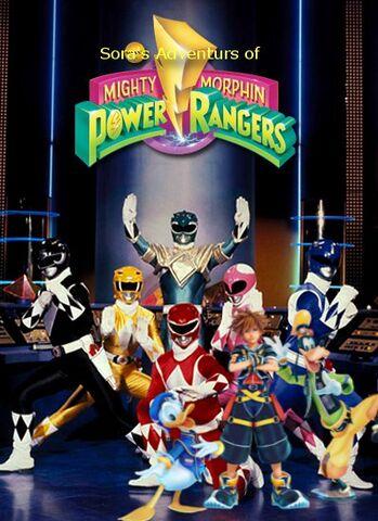 File:Sora's Adventures of Mighty Morphin Power Rangers Season 2 poster.jpg