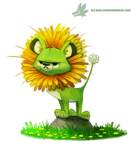 File:Daily painting 966 dande lion og by cryptid creations-d91cd3v.png