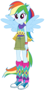 Geometric Rainbow Dash