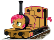 MLP Babs Seed as a Thomas and Friends character