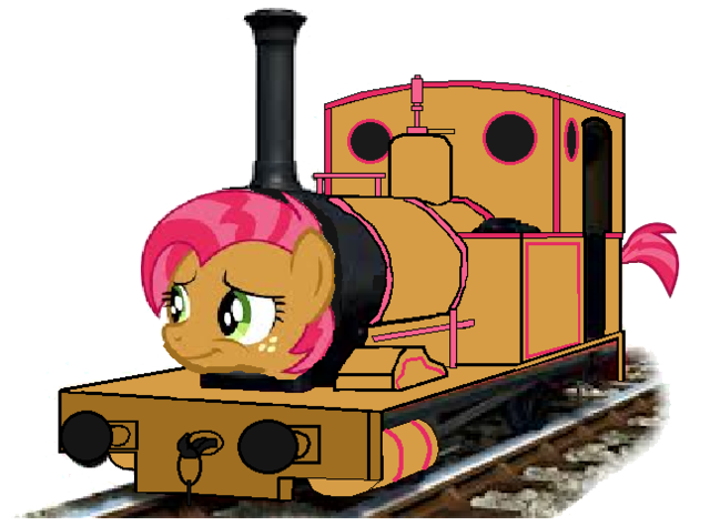 File:MLP Babs Seed as a Thomas and Friends character.png