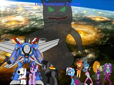 The Terminator Equine poster