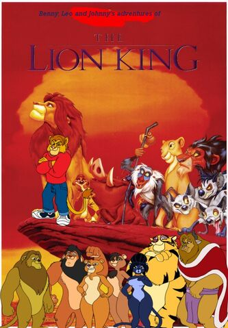 File:Benny, Leo, and Johnny's adventures of The Lion King Poster.jpg