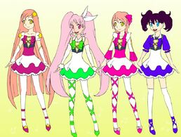 Jump beat precure by animebae99-d8im56d