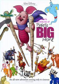 Littlefoot's Adventures of Piglet's BIG Movie poster