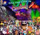 Otis the Cow in Fantasmic!