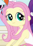 Fluttershy's young human counterpart