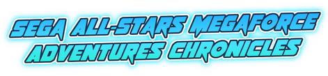 Sega All-Stars Megaforce Adventures Chronicles Logo