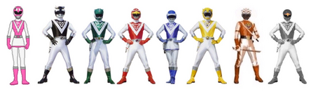 Eight bio academy rangers