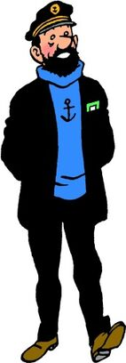 Captain Haddock One Of Tintin's Best Friend