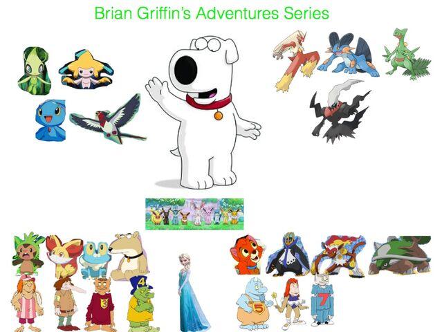File:Brian Griffin's Adventures .jpg