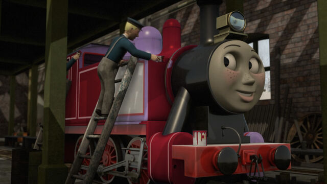 File:Season 21 rosie being painted red by the arc minister-daxhcfr.jpg