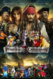 Pooh's Adventures of Pirates of the Caribbean On Stranger Tides Poster