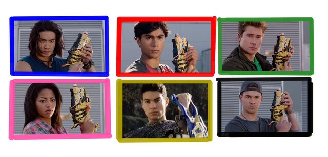 File:Six Dino Charge Rangers.jpeg