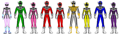 Data Squad Rangers (with Robin)