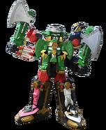 Ninja Steel Megazord Axe mode