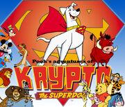 Pooh's adventures of Krypto the Superdog Poster