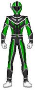 Sol Red Ranger (Green)