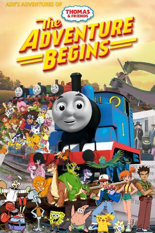 File:Ash's Adventures of Thomas & Friends - The Adventure Begins Poster.jpg