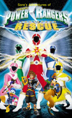 File:Sora's Adventures of Power rangers Lightspeed Rescue poster.jpg