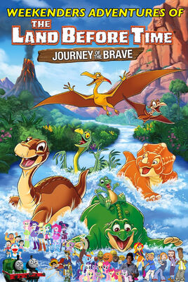 Weekenders Adventures of The Land Before Time XIV (Remake) Poster