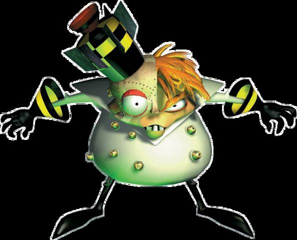 File:Crash Bandicoot 2 Cortex Strikes Back Doctor N. Gin Promo.png