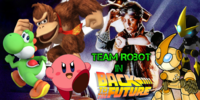 Team Robot In Back To The Future