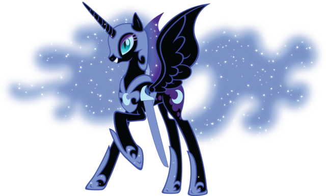 File:Nightmare Moon with her sword.png