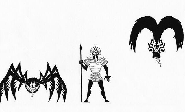 File:The Many Forms Of Aku VI by Nes44Nes.jpg